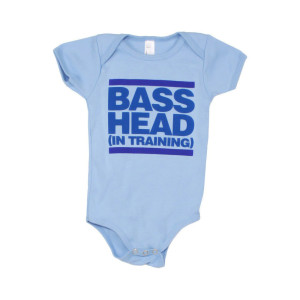 Bassnectar - Bass Head In Training - Blue Onesie