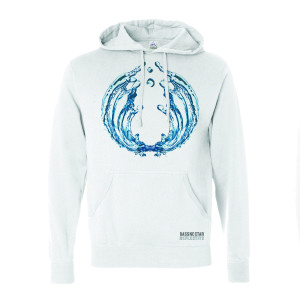 Reflective Part 3 White Hoodie
