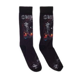 Divergent Spectrum Socks - Black
