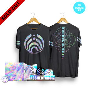 *SOLD OUT* Reflective CD Bundle w/ Tee + Pin