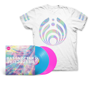 Reflective (Part 1 & 2) LP + White T-Shirt Bundle