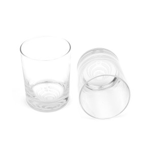 Bass Drop Rocks Glasses (Set of 2)