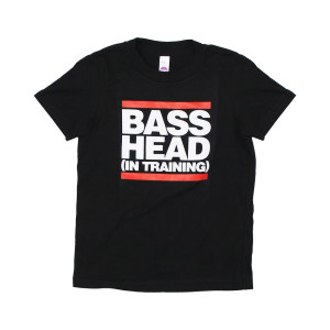 Bassnectar - Bass Head In Training - Black Toddler Tee