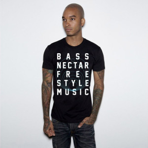 Bassnectar - Freestyle Bass Music - Black Tee
