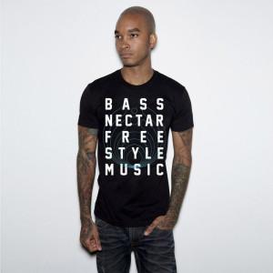 Bassnectar - Freestyle Bass Music - Black Tee