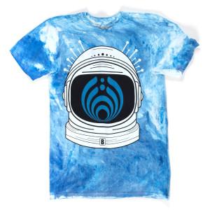Bassnectar Milky Way Marble Tee - Blue