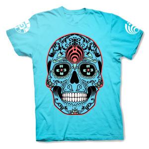 Blue Viva La Vida Bajo T-Shirt