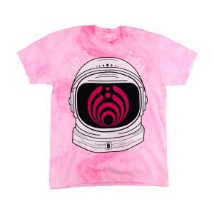 Bassnectar Milky Way Marble Tee - Pink