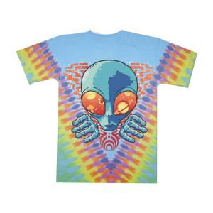 Alien Tie Dye T-Shirt