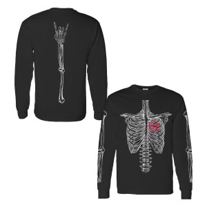 Skeleton Long Sleeve Tee