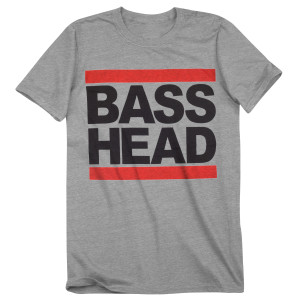 Bassnectar Bass Head T Shirt  - Grey