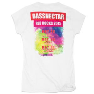 Bassnectar Lightworks Ladies T Shirt