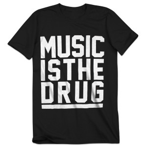 Bassnectar Music Is The Drug Grid T-Shirt