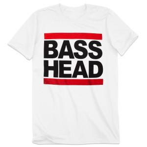 Bassnectar White Bass Head T Shirt