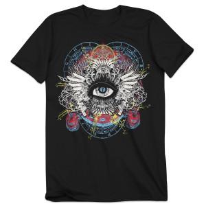 Bassnectar Divergent Spectrum T-Shirt - Black