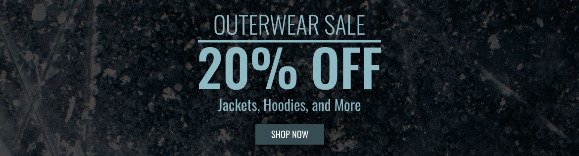 Save 20% On Outerwear!