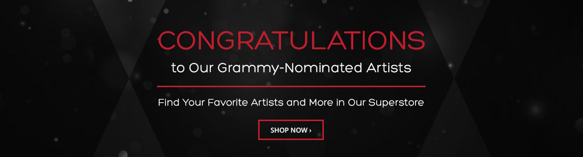Shop Our Grammy Nominated Artists