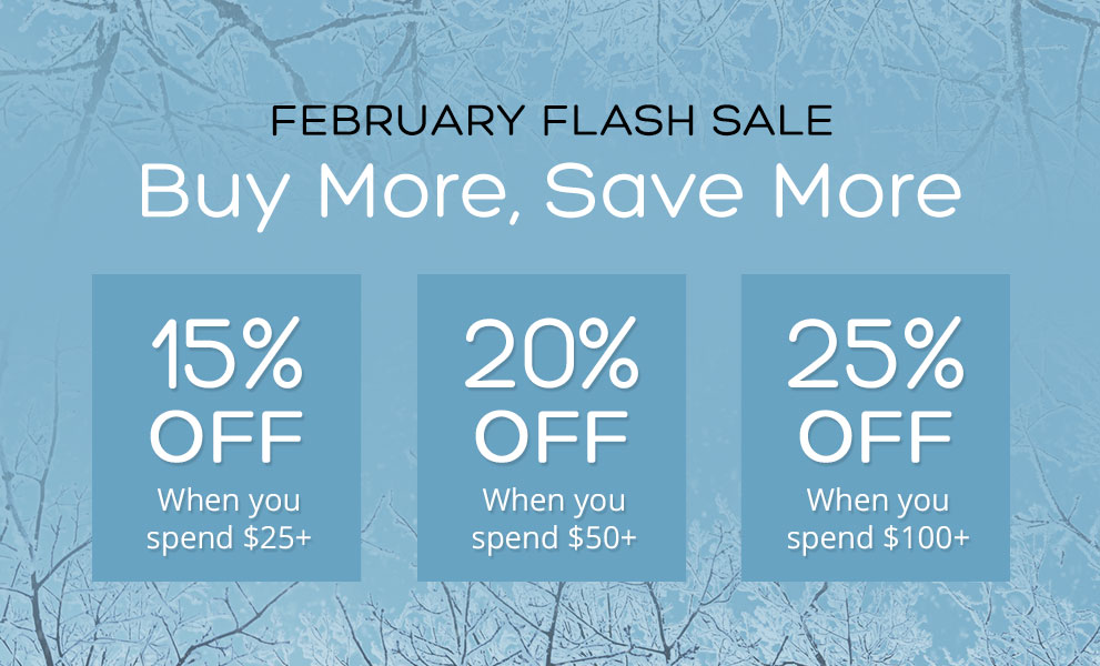 BMSM February Flash Sale!