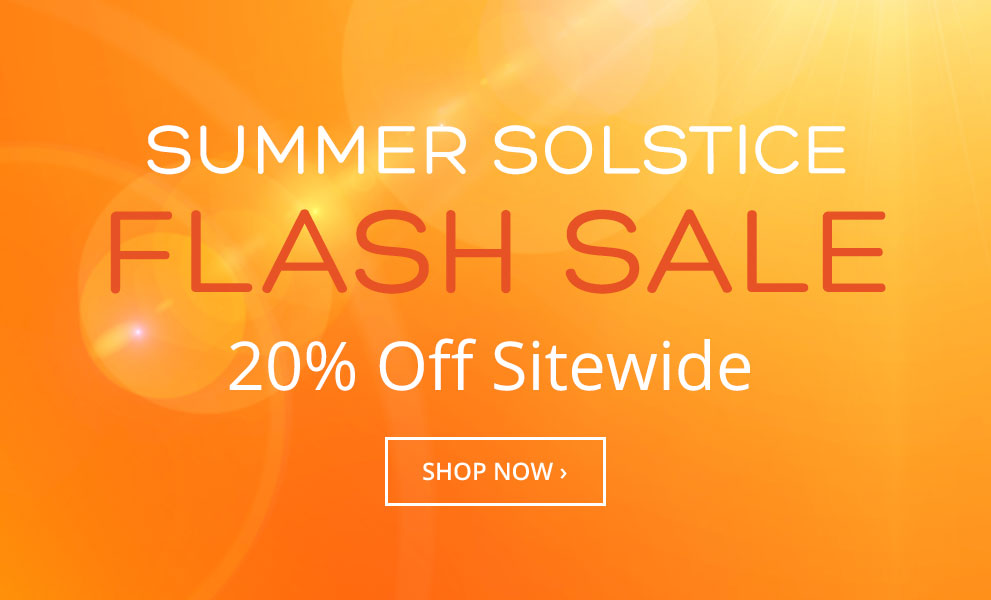 Summer Solstice Flash Sale