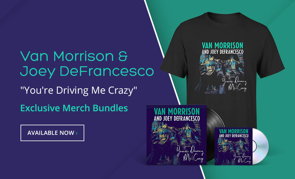Van Morrison Exclusive Merch Bundles!