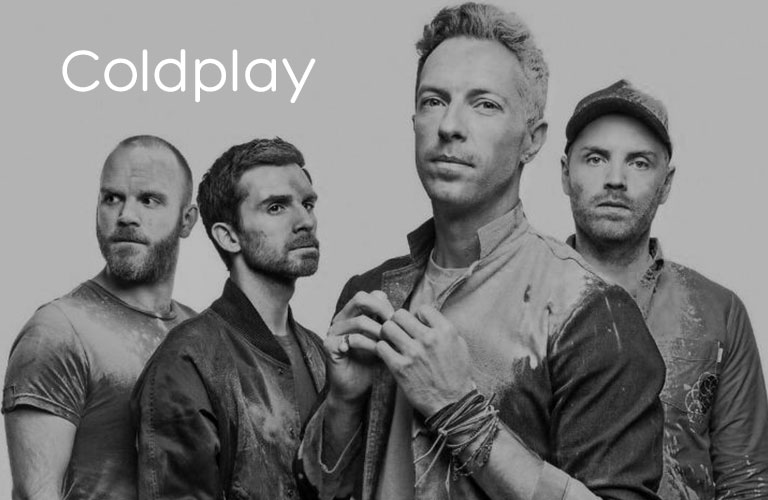 Shop Coldplay