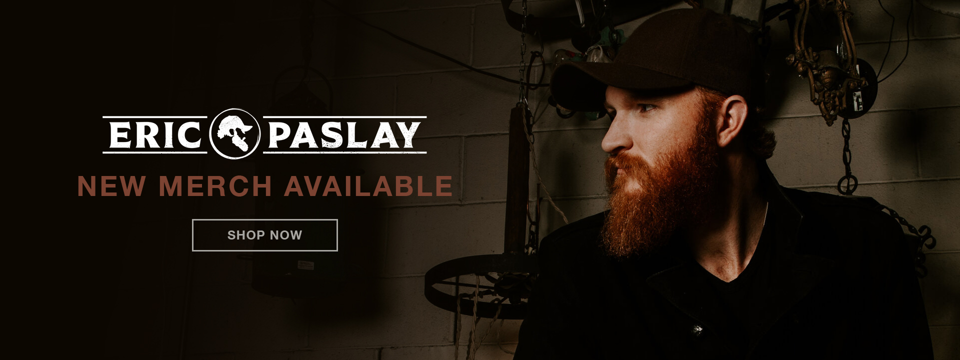 Eric Paslay | New merch available | Shop now