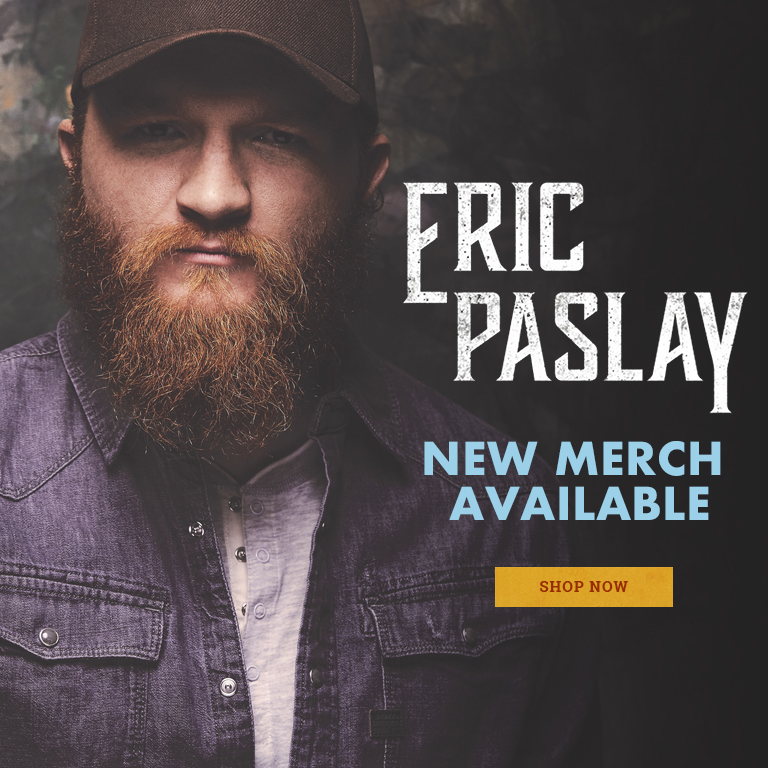 Welcome to the Eric Paslay Store