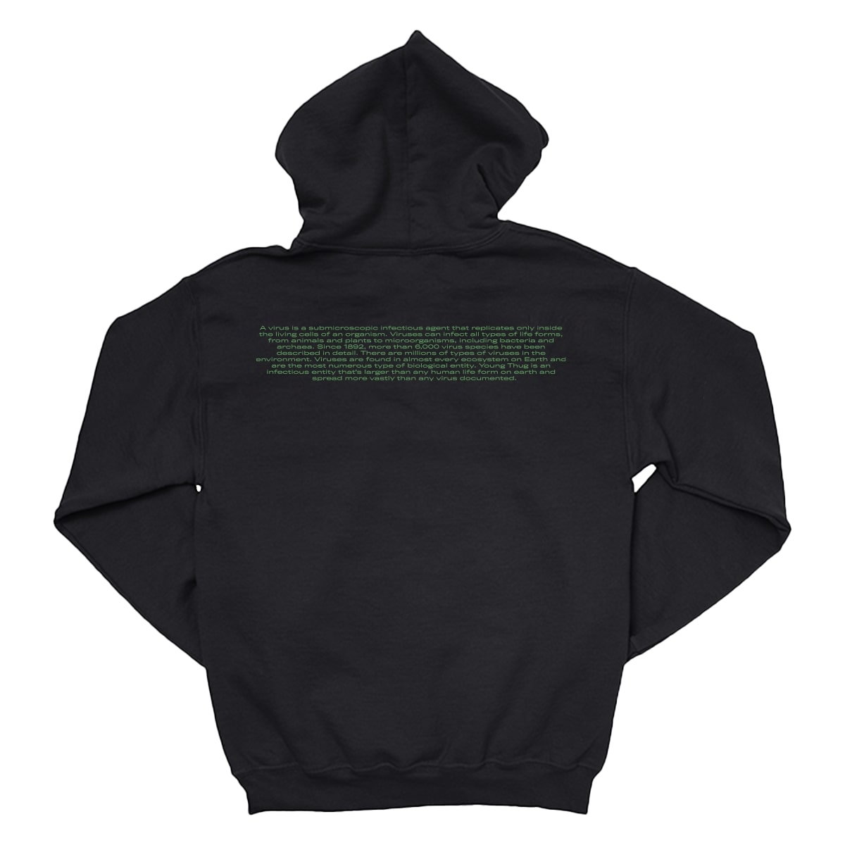 2020 Stay Home Tour Green Hoodie