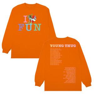YT I Heart Fun Long Sleeve T-shirt