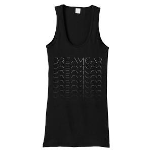 DREAMCAR Ombre Logo Beater Tank
