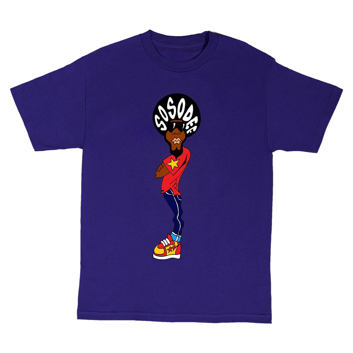 So So Def Tour Purple T-shirt