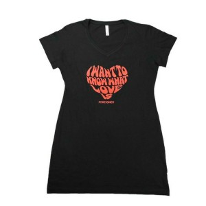 Women's I Want To Know What Love Is Night Dress