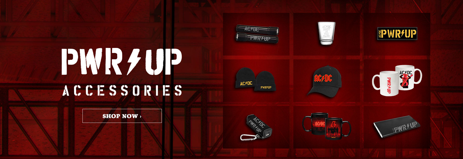 AC/DC | Power Up Accessories. | Order Now