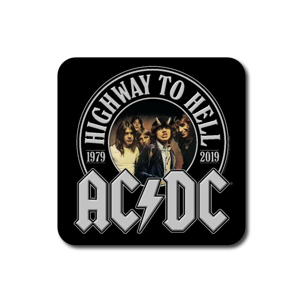 Highway To Hell 40th Anniversary Coaster Set | Shop the AC