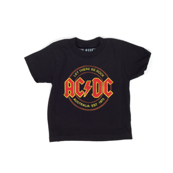 NEW /& OFFICIAL! AC//DC /'Let There Be Rock/' Kids T-Shirt