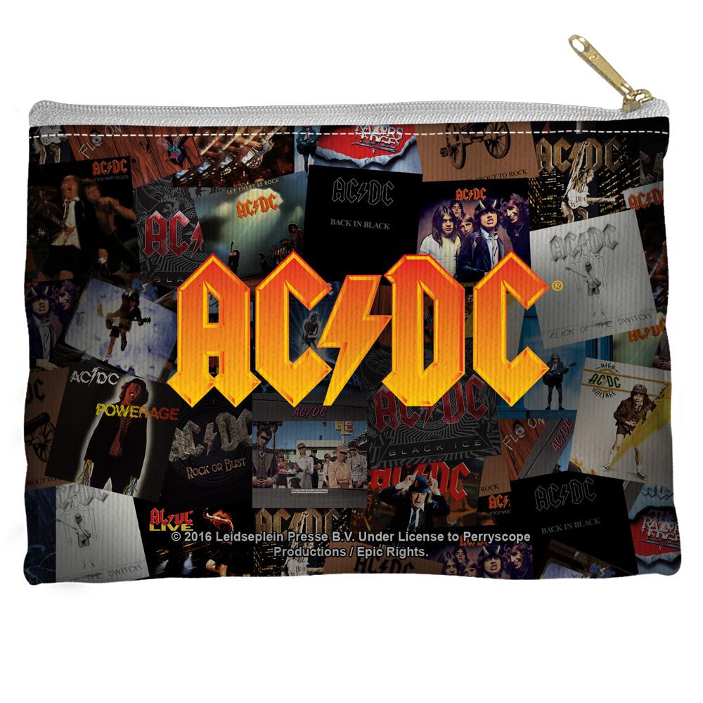AC/DC - Albums - Accessory Pouch  [12.5 X 8.5]