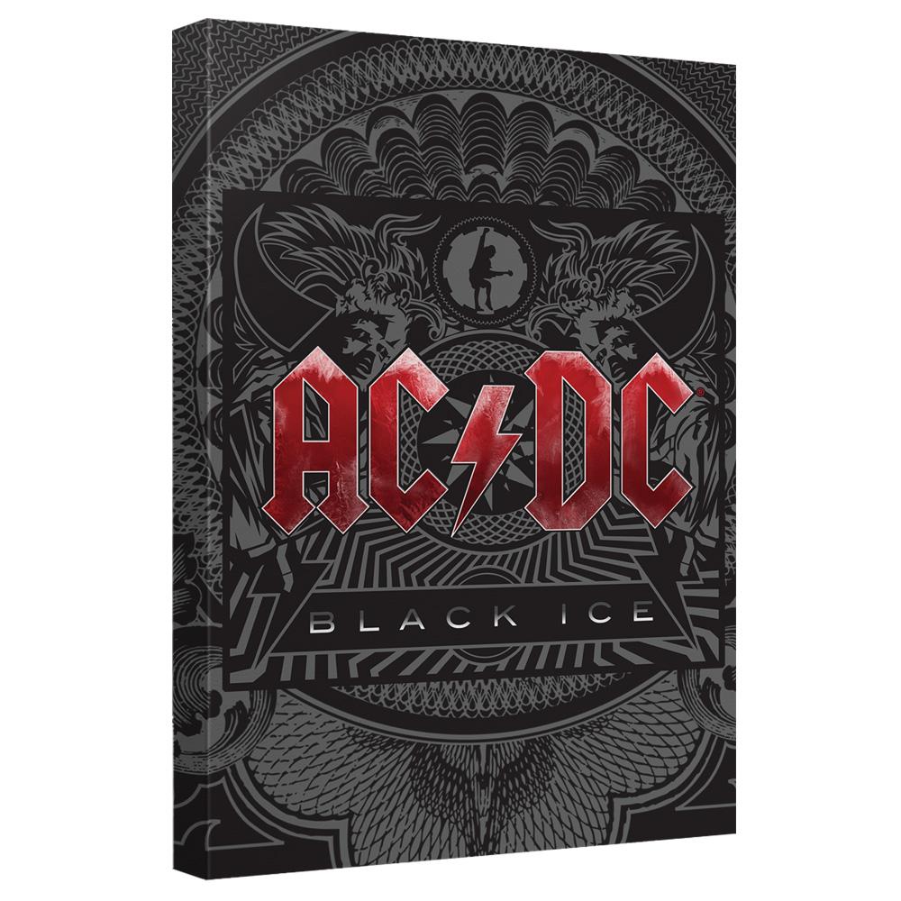 AC/DC - Black Ice Cover - Quickpro Artwrap Back Board - White [20 X 30]