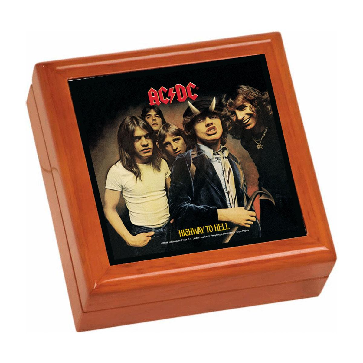 Highway To Hell Wooden Keepsake Box
