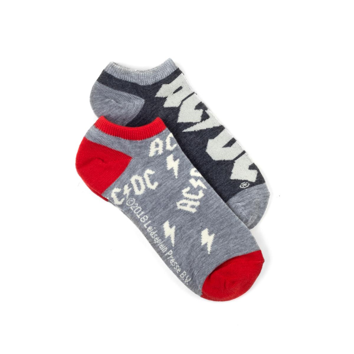 AC/DC Logo Ankle Sock Set