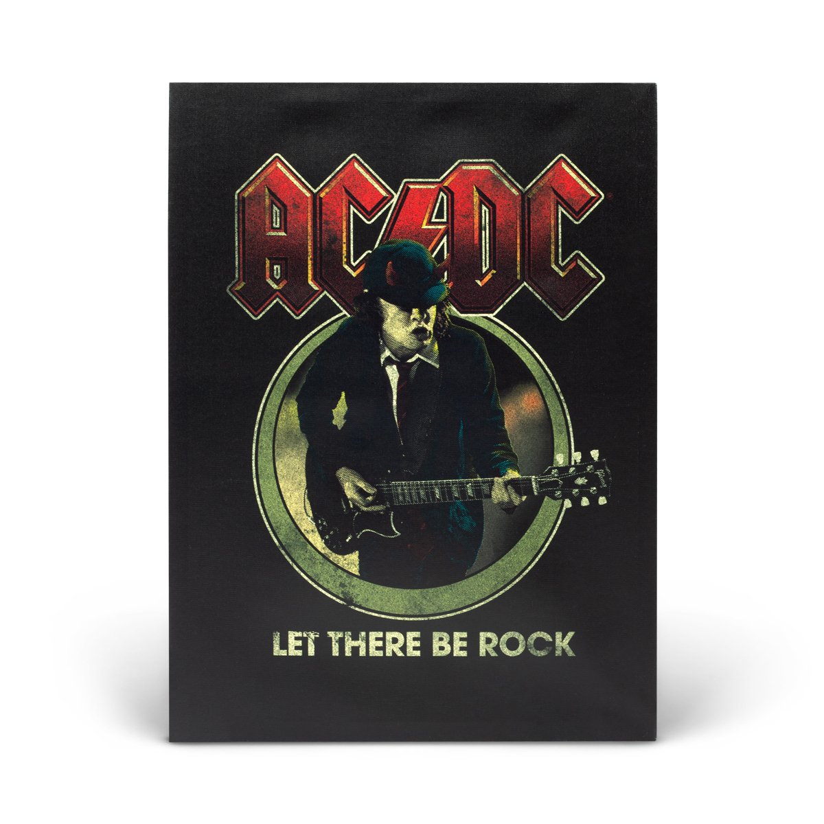 Let There Be Rock Canvas Art