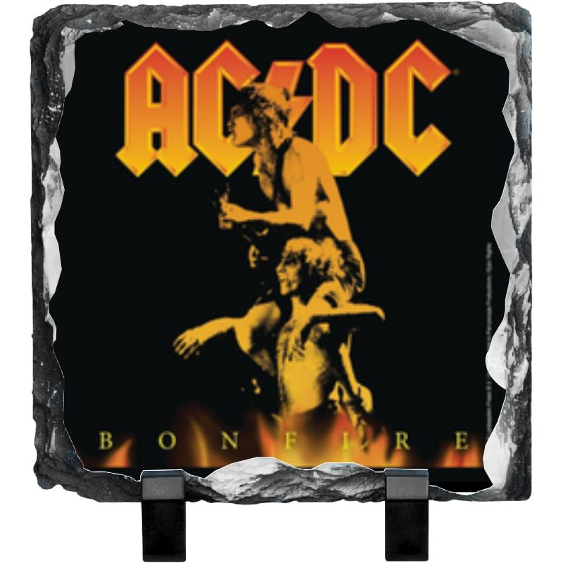 AC/DC Bonfire Photo Slate
