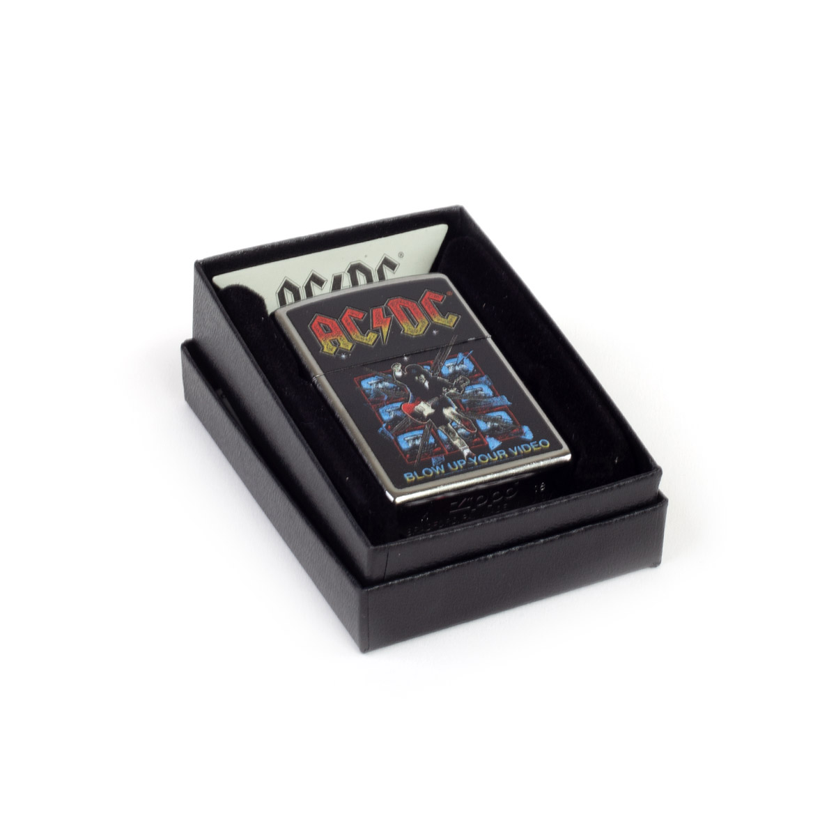 AC/DC Blow Up Your Video Zippo Lighter