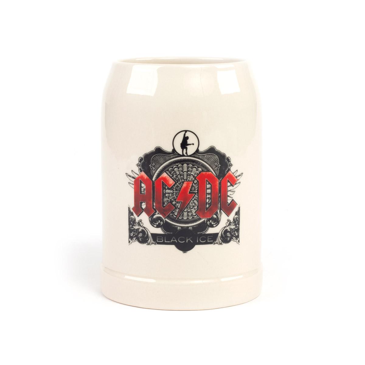AC/DC Black Ice Ceramic Stein