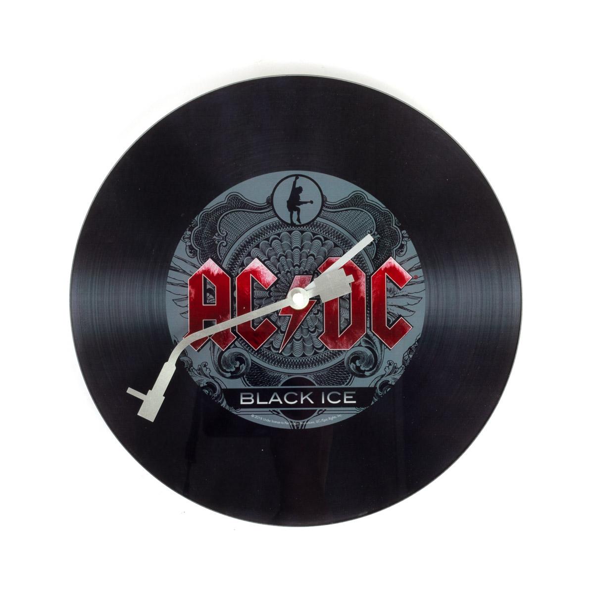 AC/DC Black Ice Clock