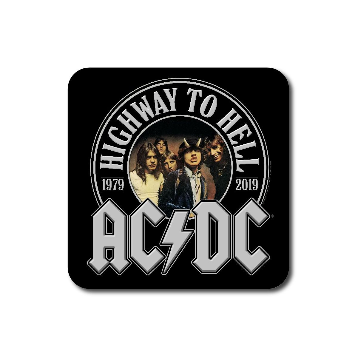 AC/DC Highway To Hell 40th Anniversary Coaster Set