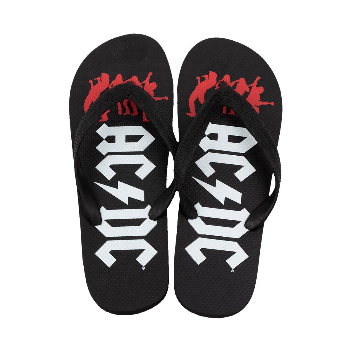AC/DC Classic Logo Sandals