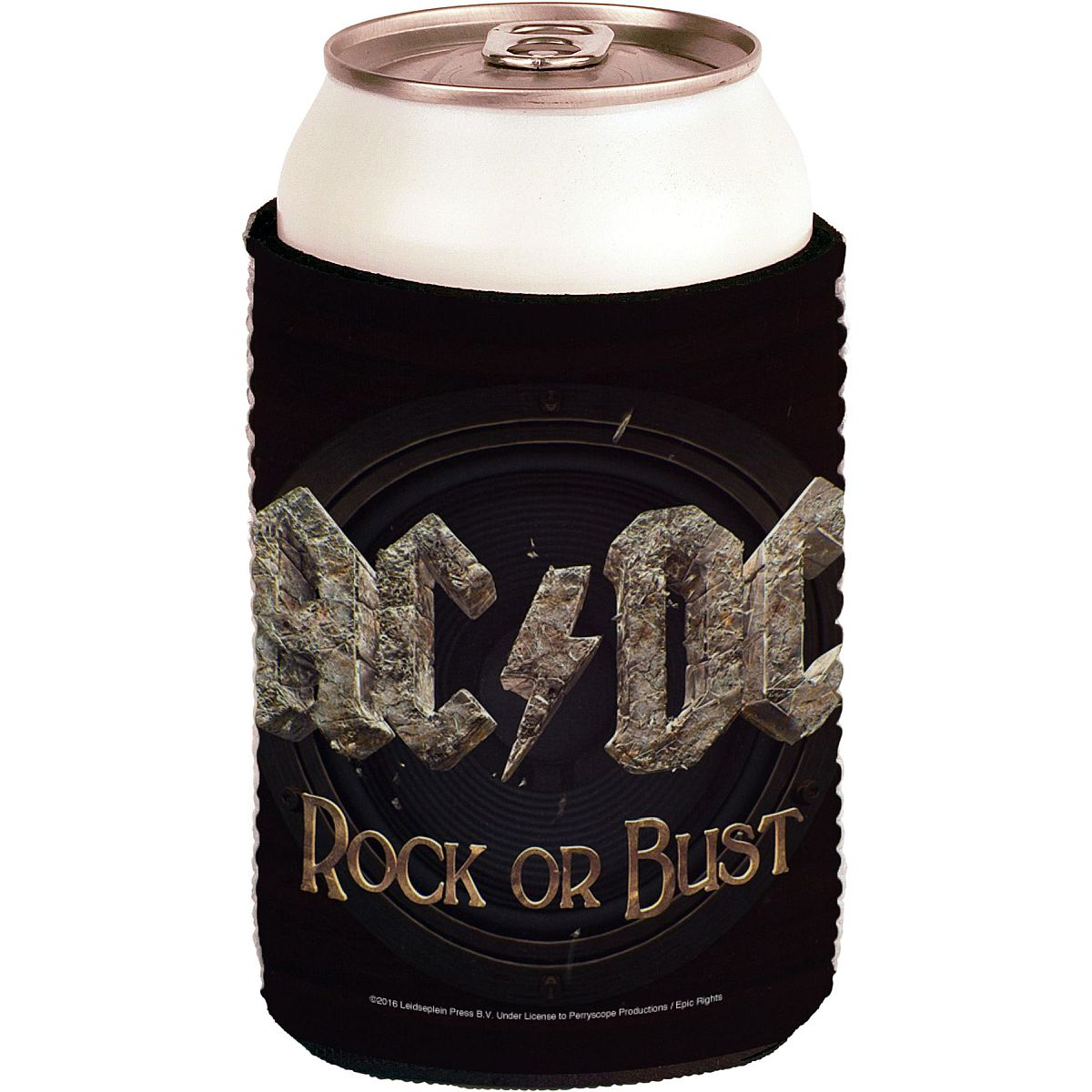 Rock Or Bust Coozie
