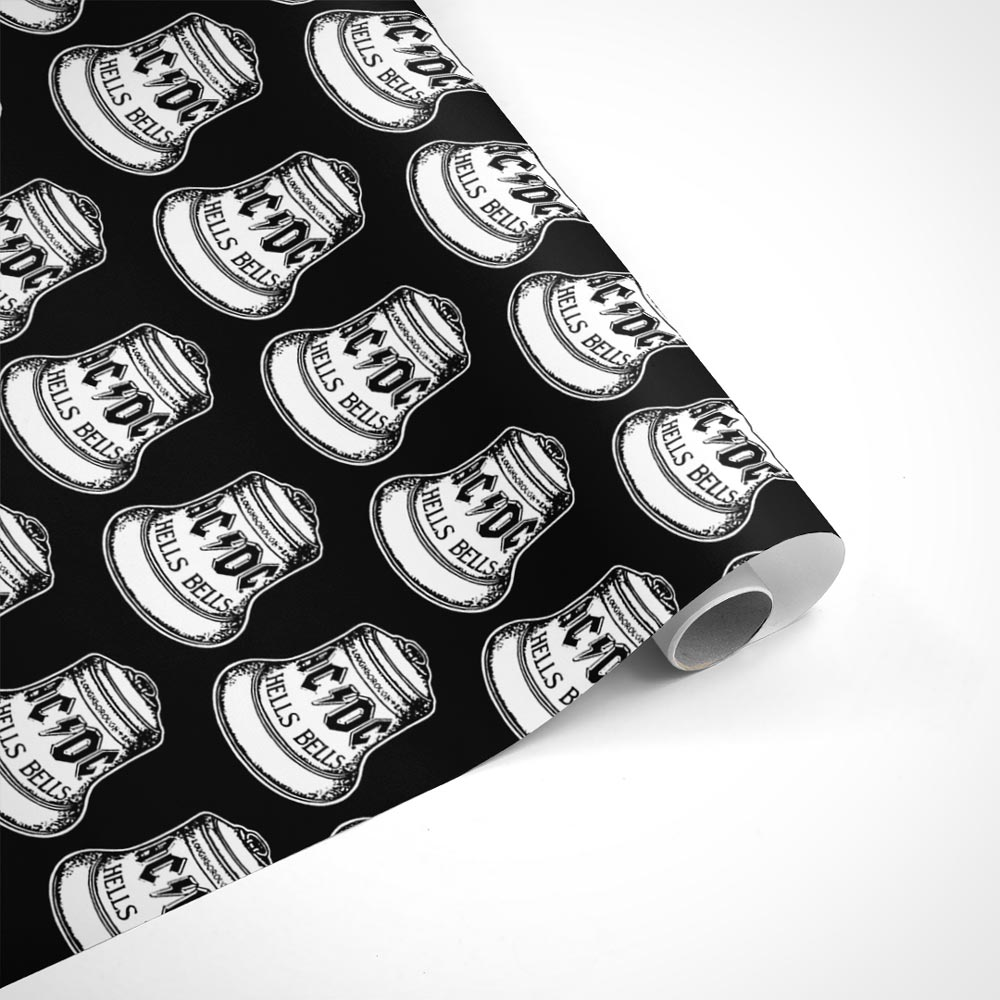 AC/DC Hells Bells Wrapping Paper
