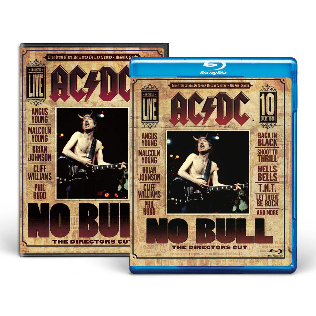 AC/DC No Bull DVD or BluRay