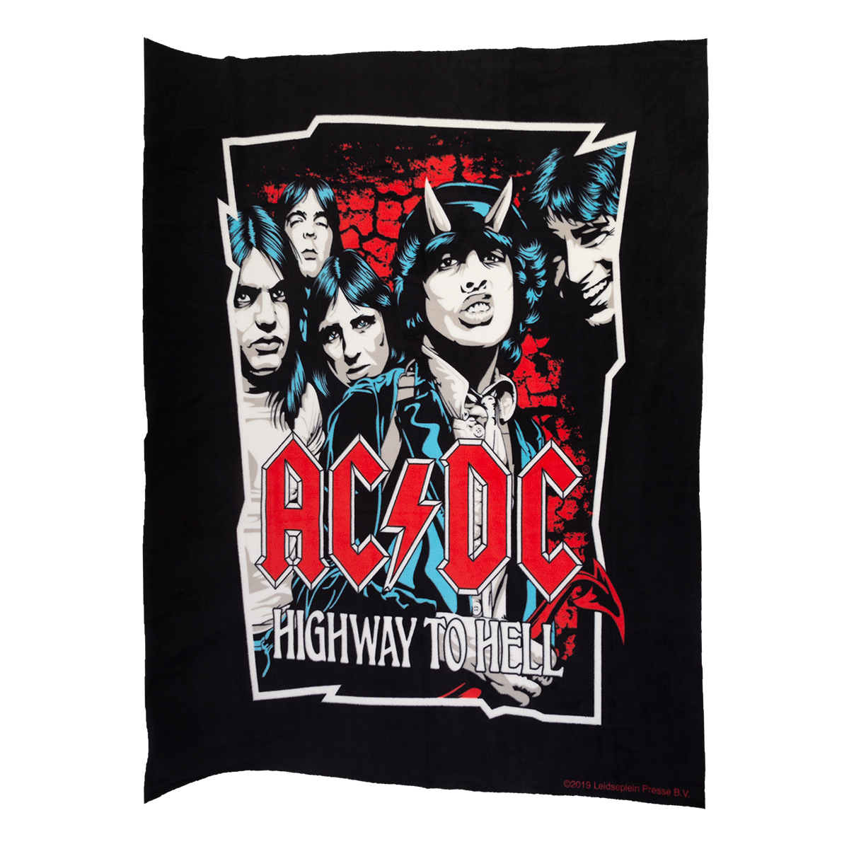 AC/DC Highway to Hell No Sew Fleece Throw Kit